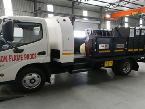 ROPS Converted Service Truck